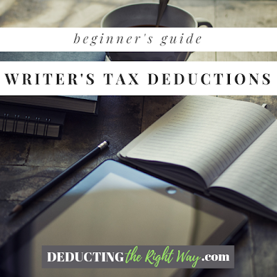 Tax Deductions for Writers | www.deductingtherightway.com