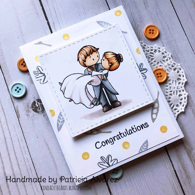 wedding clear stamp