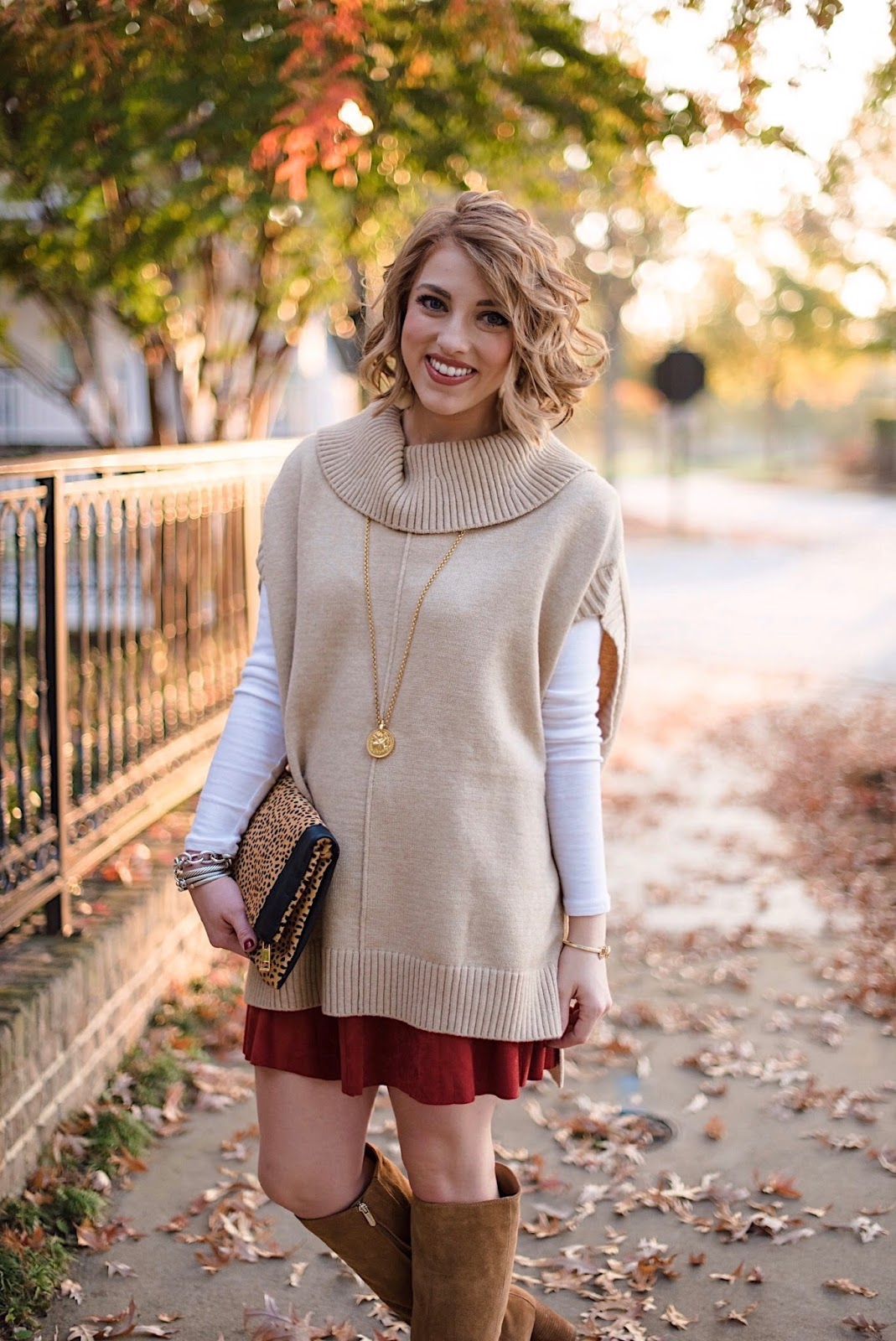 How to Layer Pieces for Fall - Something Delightful Blog