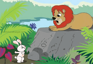 The Lion and The Rabbit - Panchtantra Moral Story in Tamil for Childrens