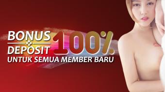 Bonus Deposit 100%!