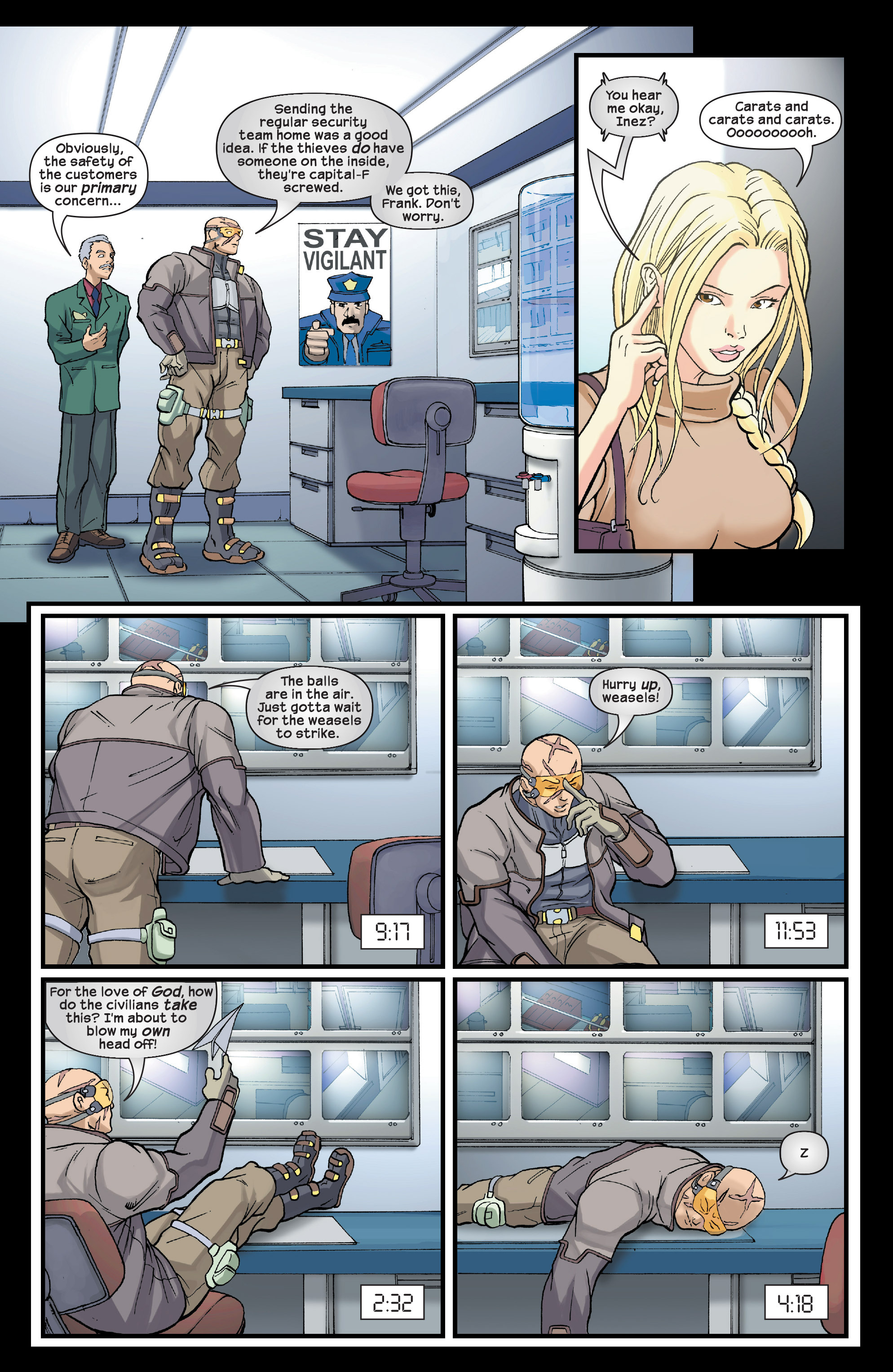 Read online Agent X comic -  Issue #3 - 16