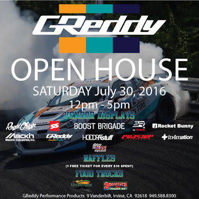 Join the FB GReddy Open House Event Page