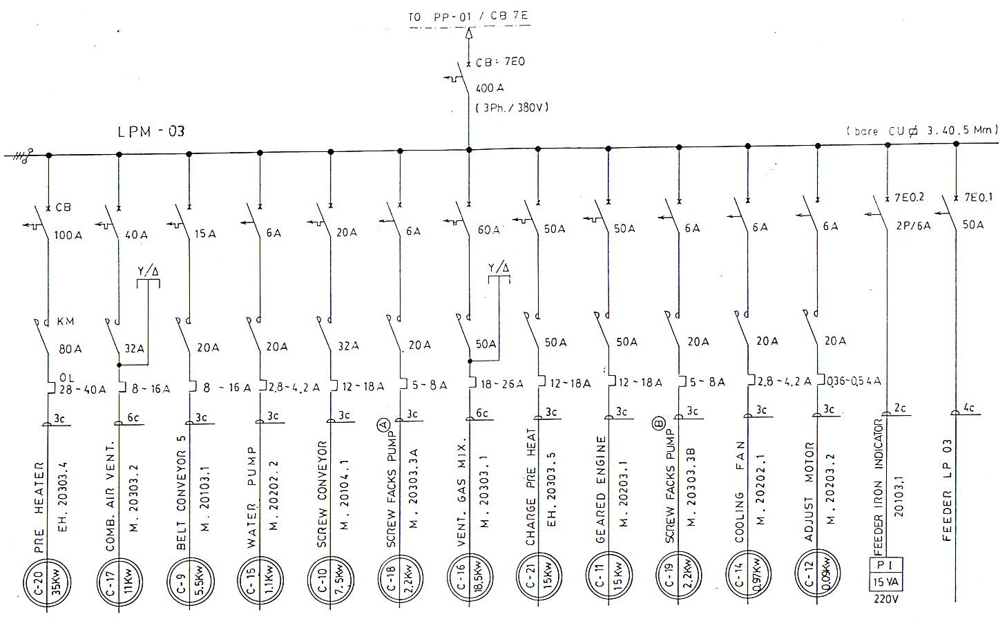 Admirable Wrg 7265 Penerangan Gambar Single Line Wiring Diagram Wiring 101 Akebretraxxcnl