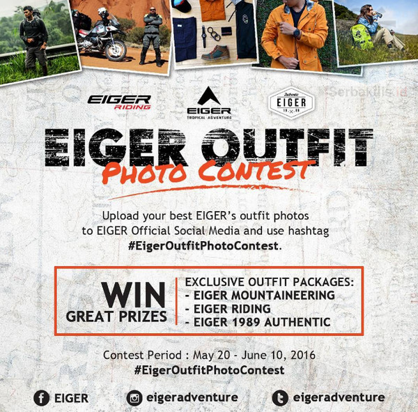 Eiger Outfit Photo Contest