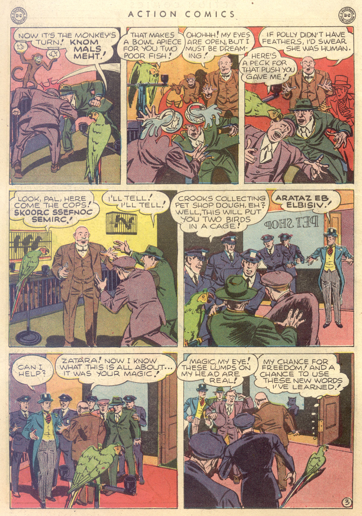 Read online Action Comics (1938) comic -  Issue #88 - 44