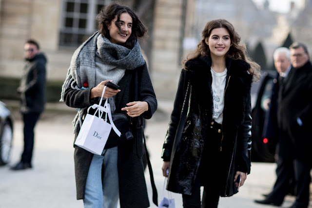 Model Street Style: Paris Couture Fashion Week S/S 2017