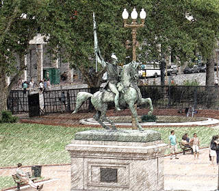 Monumento a San Martin, na Plaza de Mayo