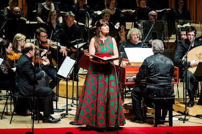 Handel: Brockes Passion - Ruby Hughes, Academy of Ancient Music, Richard Egarr - Barbican (Photo Robert Workman)