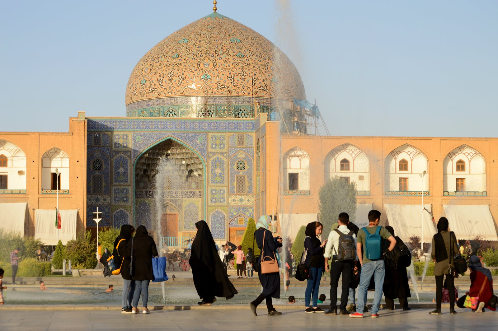 Imagen mezquita de Irán