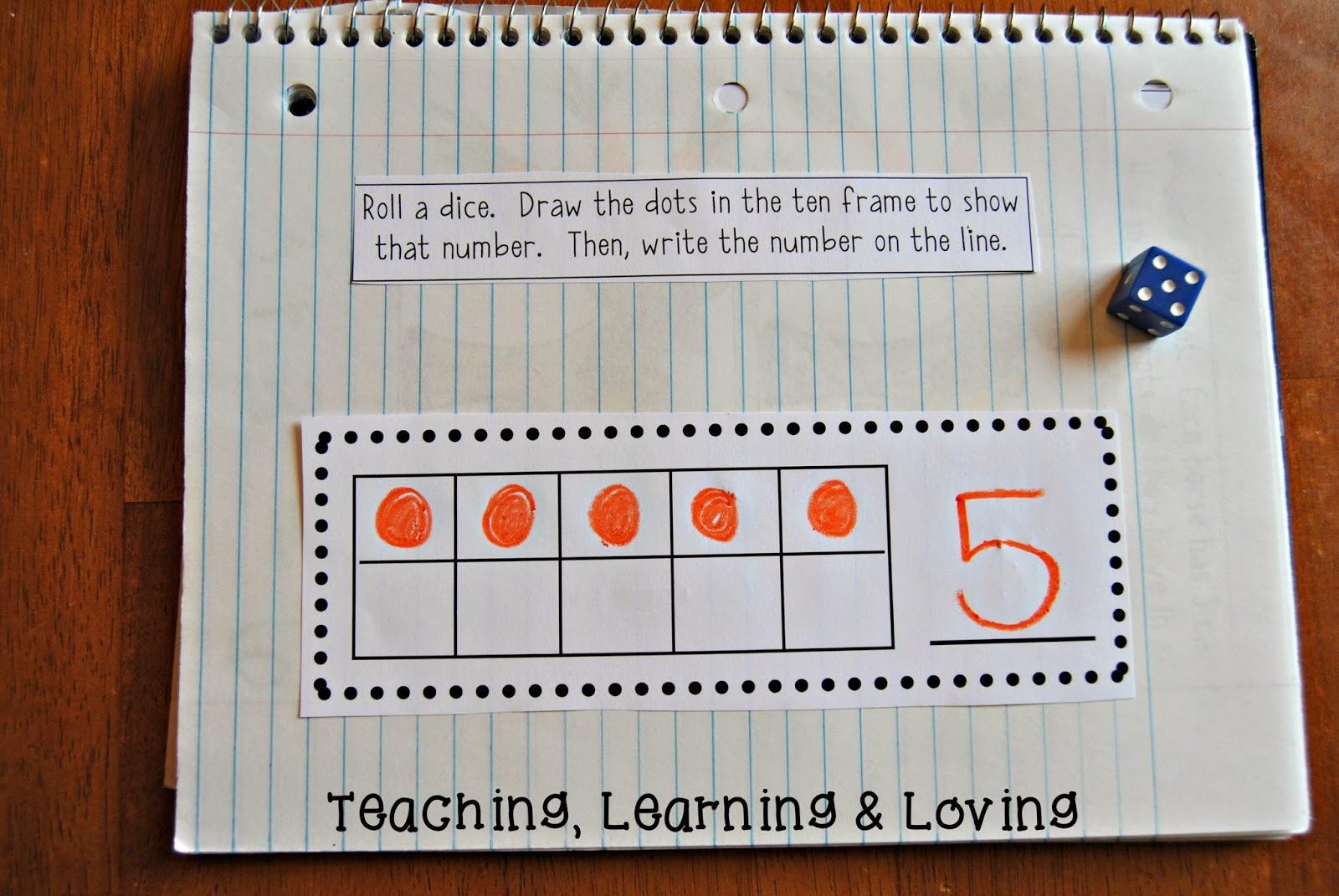 Teaching, Learning, & Loving: September Math Journal Prompts