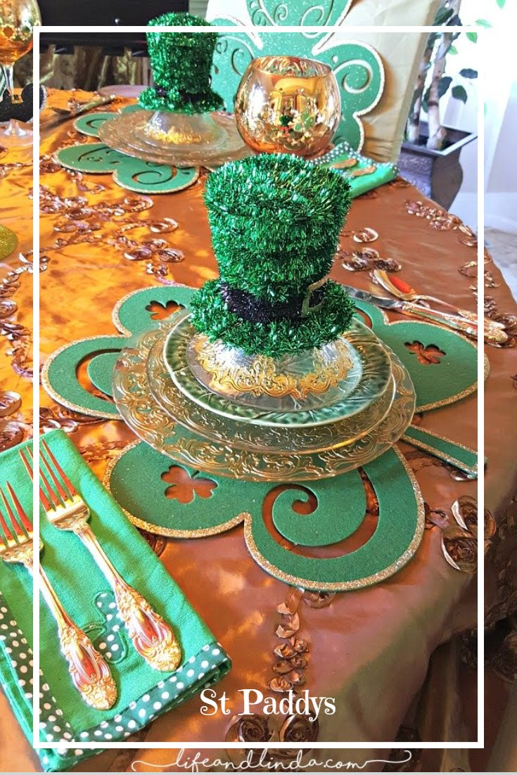 St Paddy's Tablescape