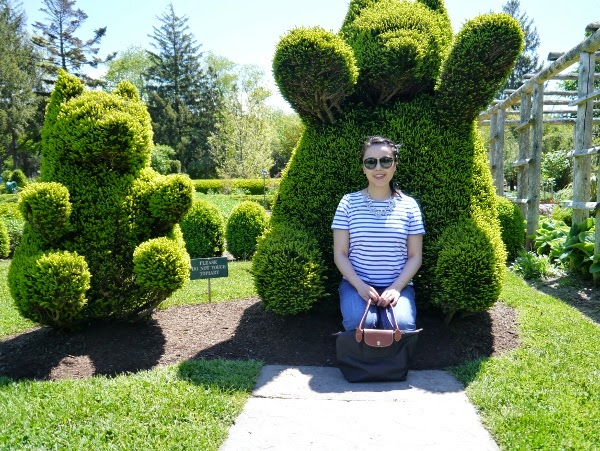 Green Animals Topiary Garden in Newport, RI
