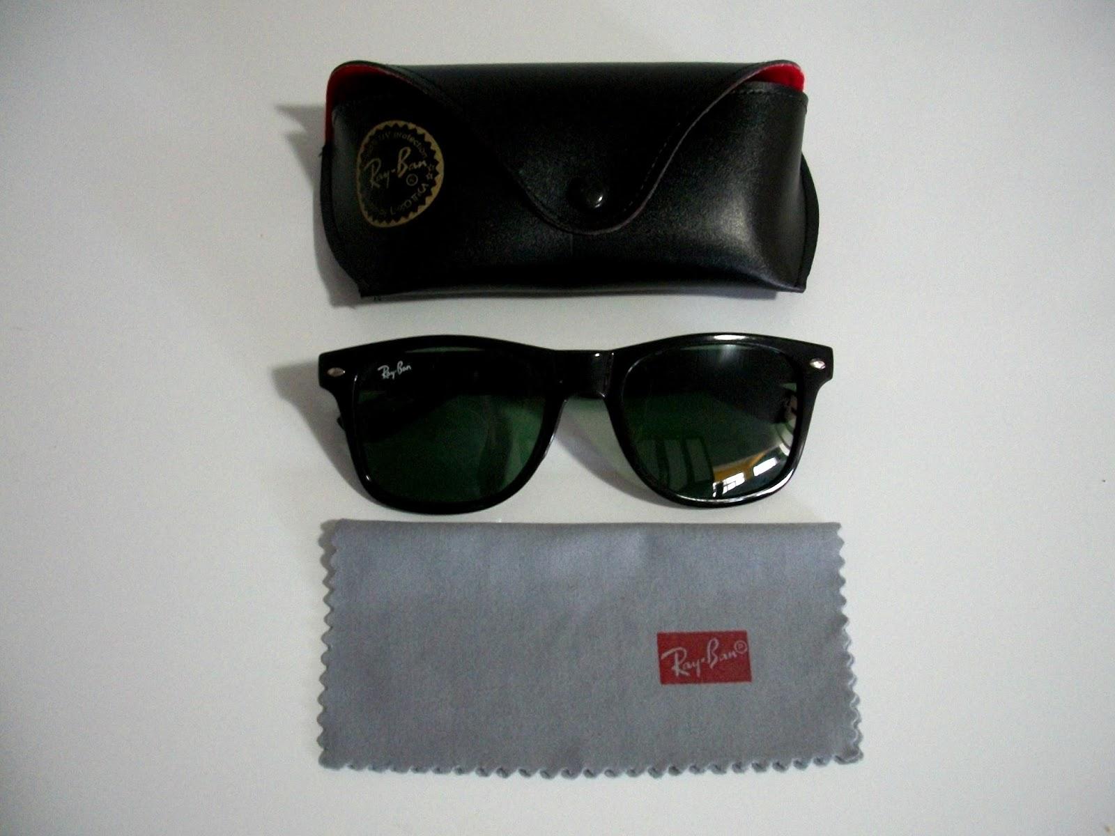 óculos No Estilo Ray Ban Rb 2140 Wayfarer Vermelho   Louisiana ... cdb0c6b93f