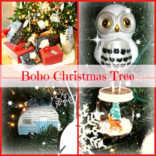 Boho Woodland Christmas Tree
