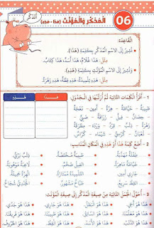 25 - كراس العطلة عربية سنة ثالثة