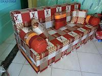 Sofa bed inoac new elve coklat