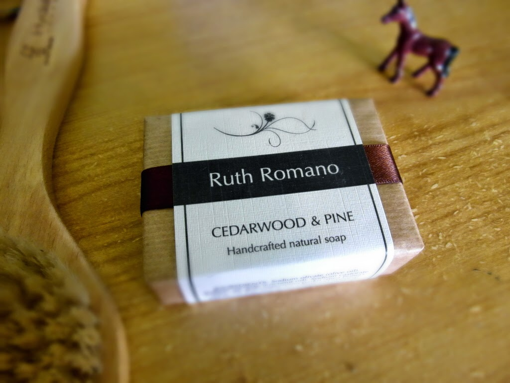 Cedarwood & Pine soap, Ruth Romano