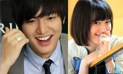 Lee Min Ho dating Koo Hye zon