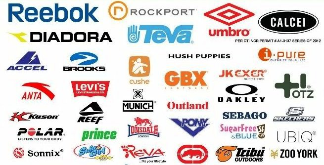 All Shoes Brand Name List