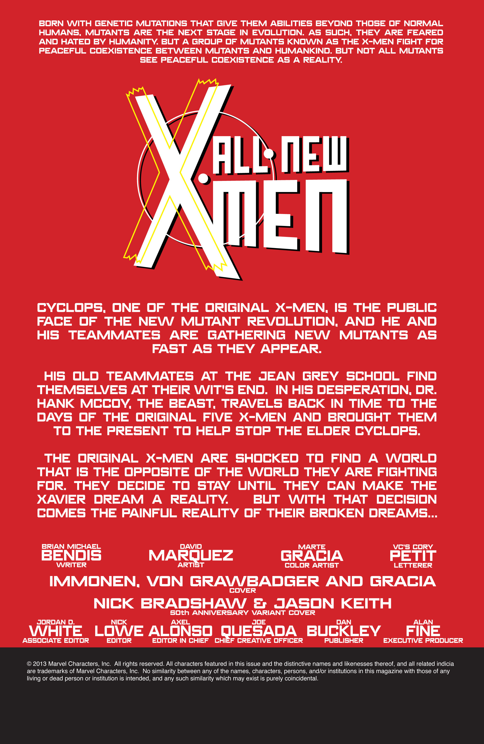Read online All-New X-Men (2013) comic -  Issue # _Special - Here To Stay - 24