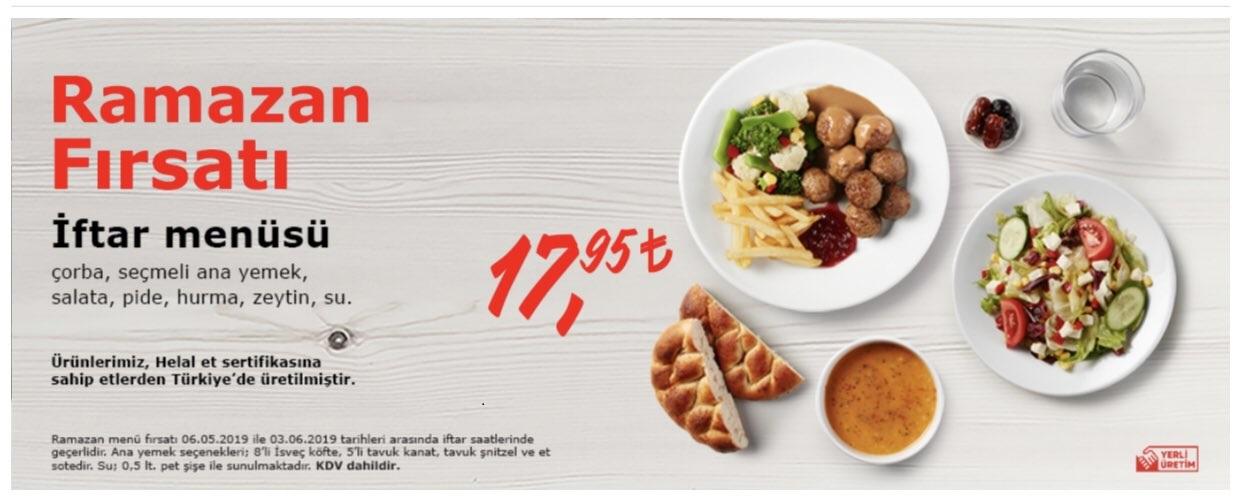 ikea iftar menusu ikea ramazan menüsü 2019 ikea iftar menüsü fiyatları ikea iftar yemeği uygun fiyatlı iftar mekanları