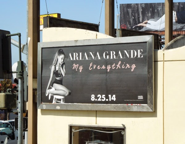 Ariana Grande My Everything album billboard