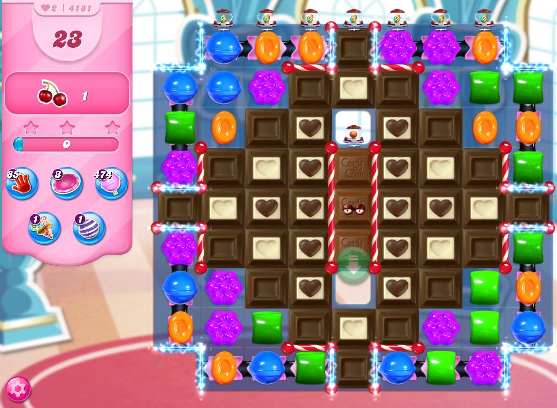 Candy Crush Saga level 4181