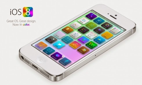 iOS 8 de Apple