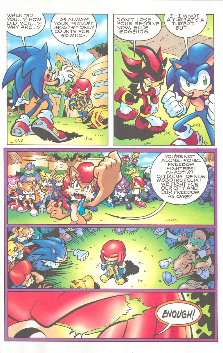 Read online Sonic The Hedgehog comic -  Issue #182 - 11