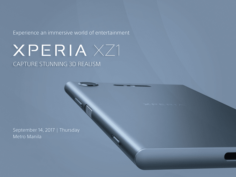 Report: Sony To Launch Xperia XZ1 In PH On September 14ria XZ1 In PH On September 14