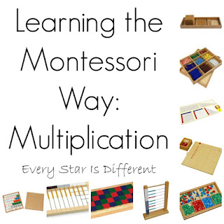 How to learn to multiply using the Montessori Method
