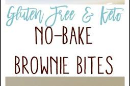 KETO NO-BAKE BROWNIE BITES (PALEO, GLUTEN FREE, DAIRY FREE, VEGAN)