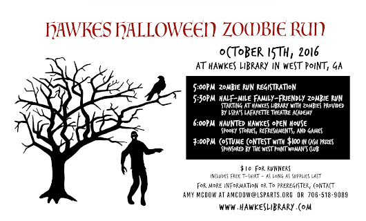 Hawkes Halloween Zombie Run and Haunted Open House