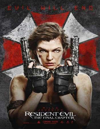 Resident Evil The Final Chapter 2017 Full Hindi Dubbed Full