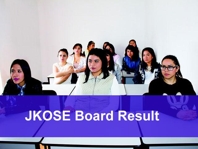 JKBOSE Result 2018 Jammu Kashmir Board Results Declared on @ jkbose.co.in