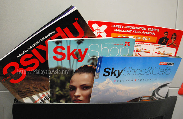 In-Flight magazines on AirAsia X