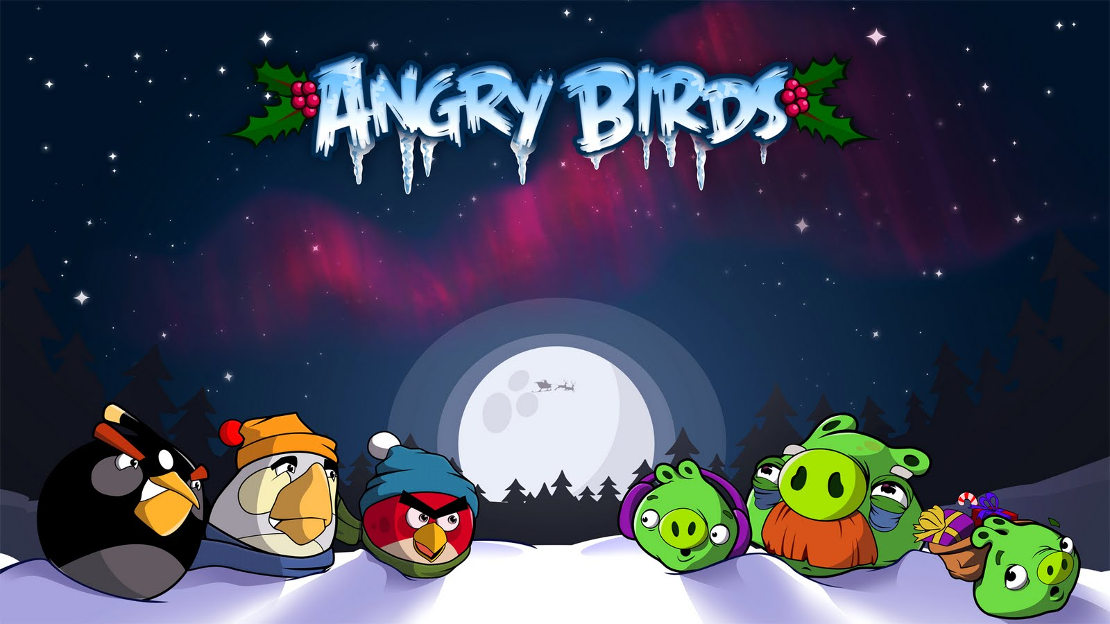 Desktop Wallpapers: Angry Birds Game HD Wallpapers