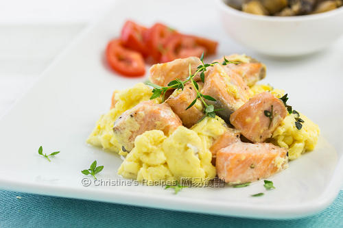三文魚炒蛋 Salmon & Scrambled Eggs02