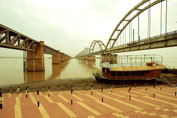 Rail Bridge on Godavari - Rajahmundry