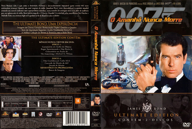 Capa DVD O Amanhã Nunca Morre