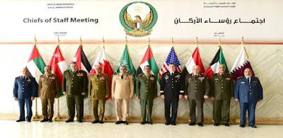 جانب من زيارة الفريق / محمود حجازى رئيس أركان حرب القوات المسلحة إلى الإمارات العربية المتحدة
