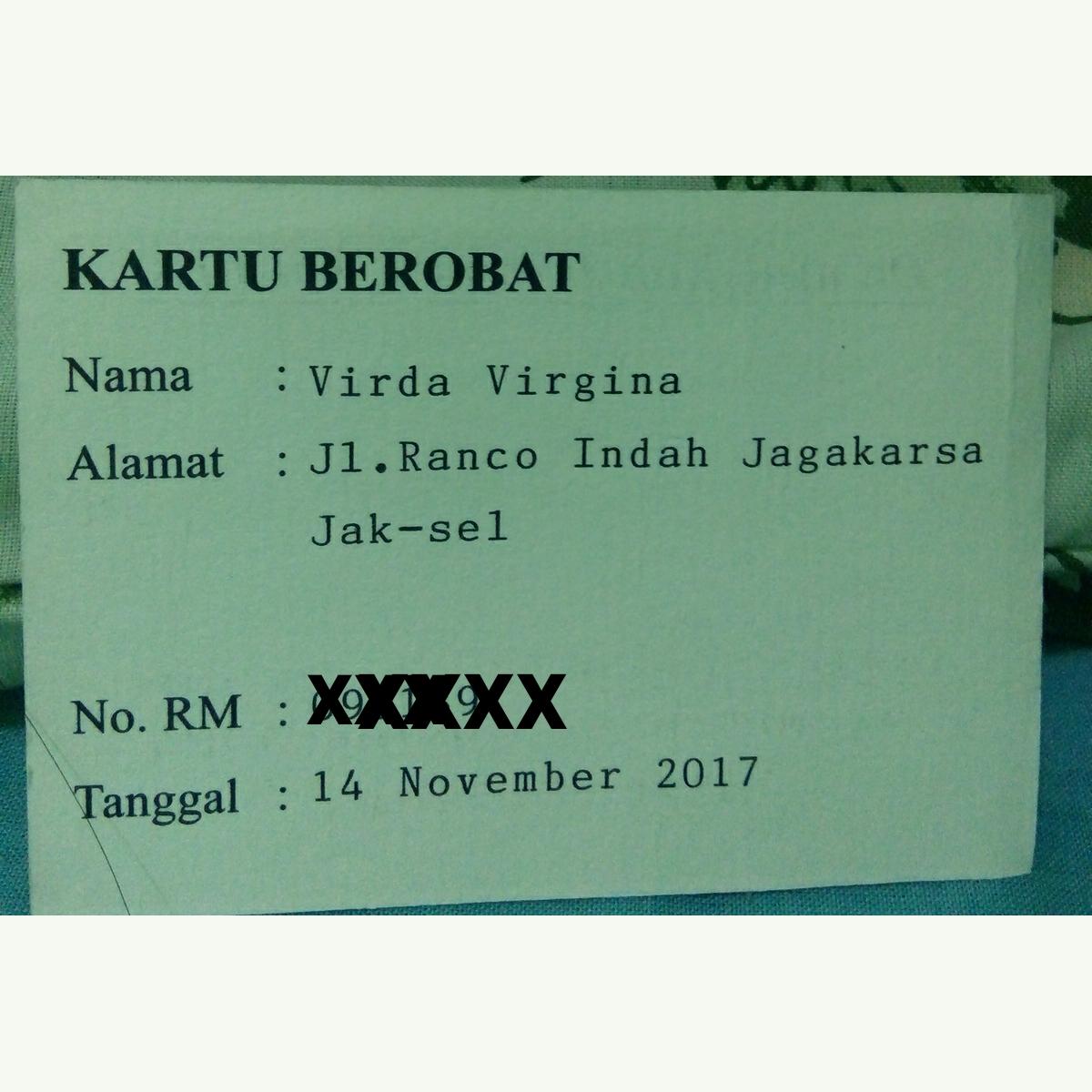 VIRDA's Blog!!!: Biaya Berobat Di Dr Kun Jayanata (Dr. Med