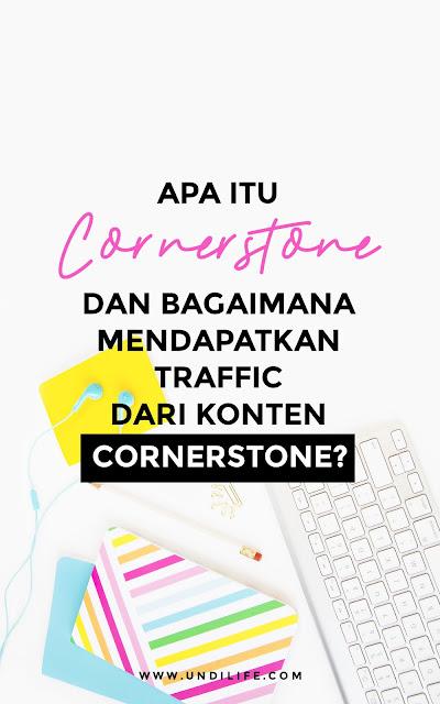 konten Cornerstone SEO dan traffic