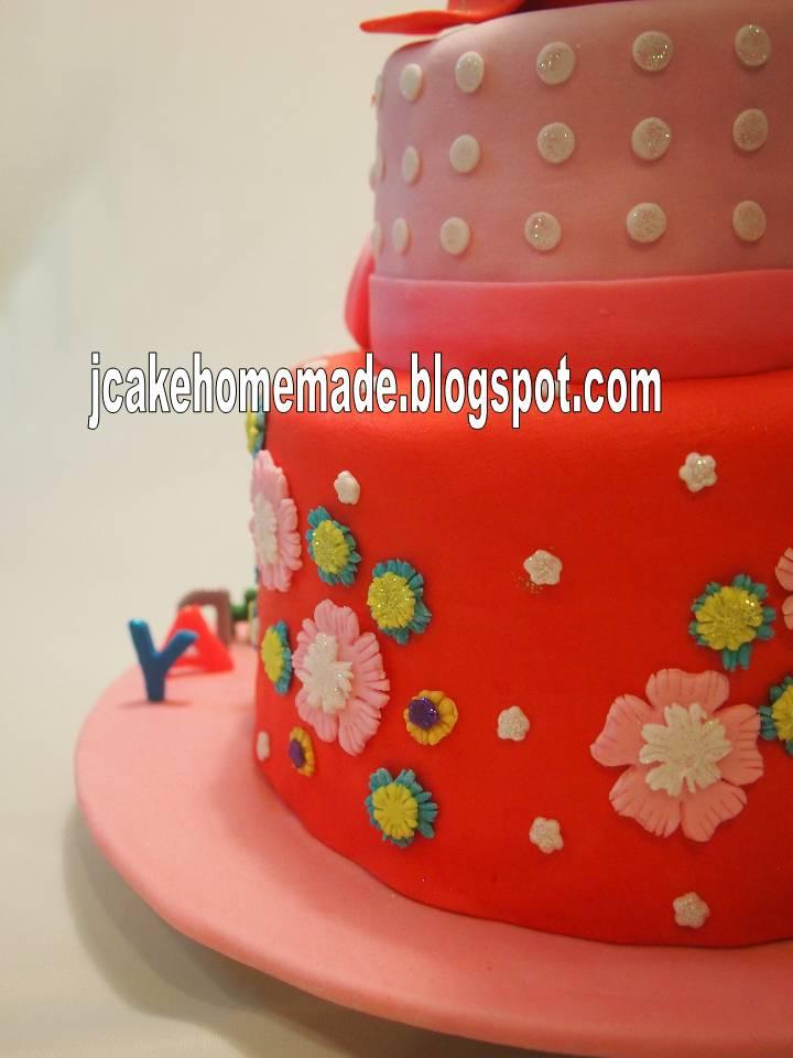 Jcakehomemade Hello Kitty Birthday Cake