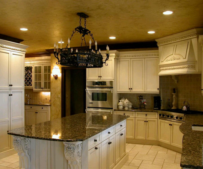 Luxury kitchen, modern kitchen cabinets designs.   Vintage ...