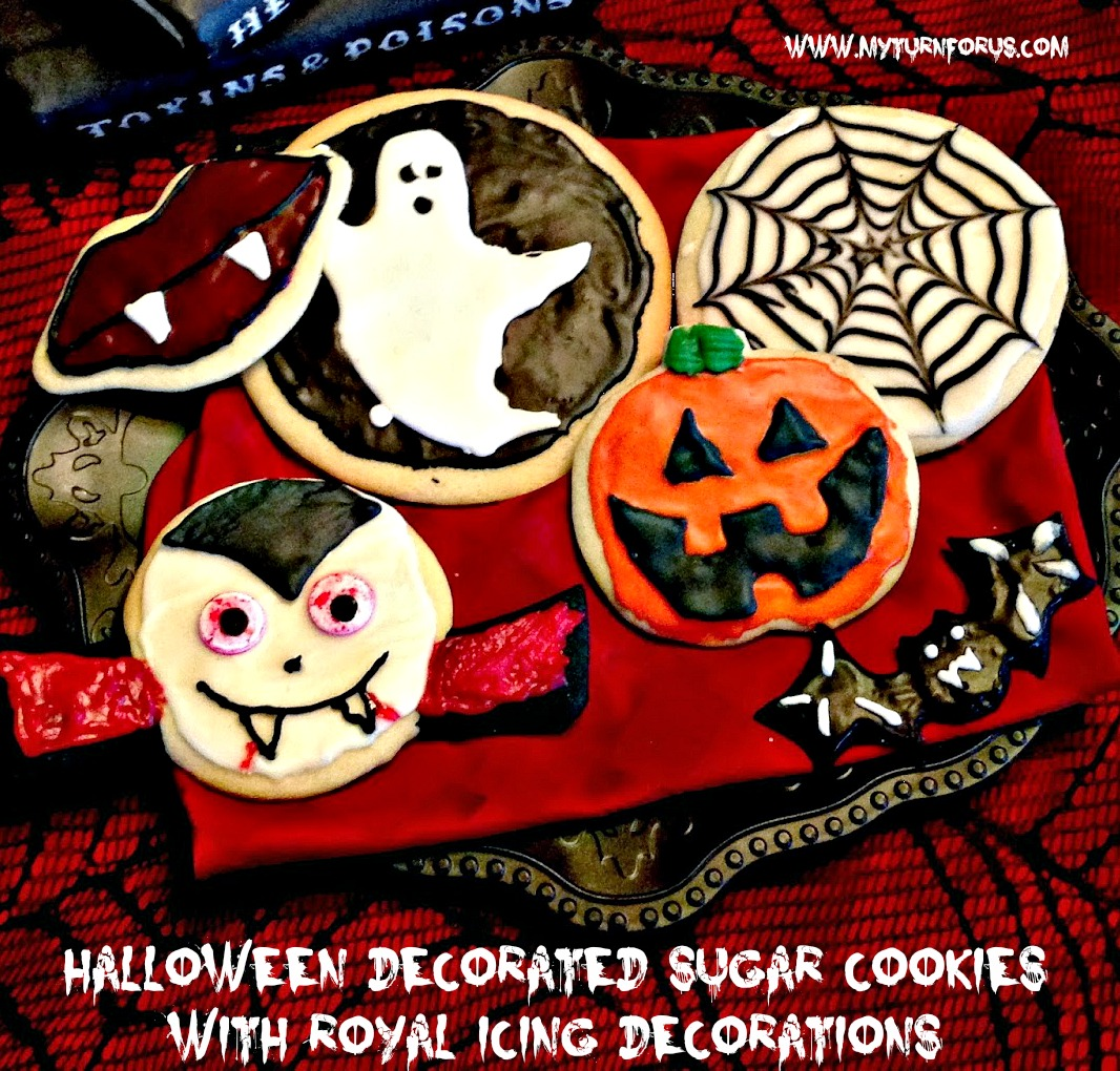 Halloween Decorated Door: Halloween Decorated Sugar Cookies