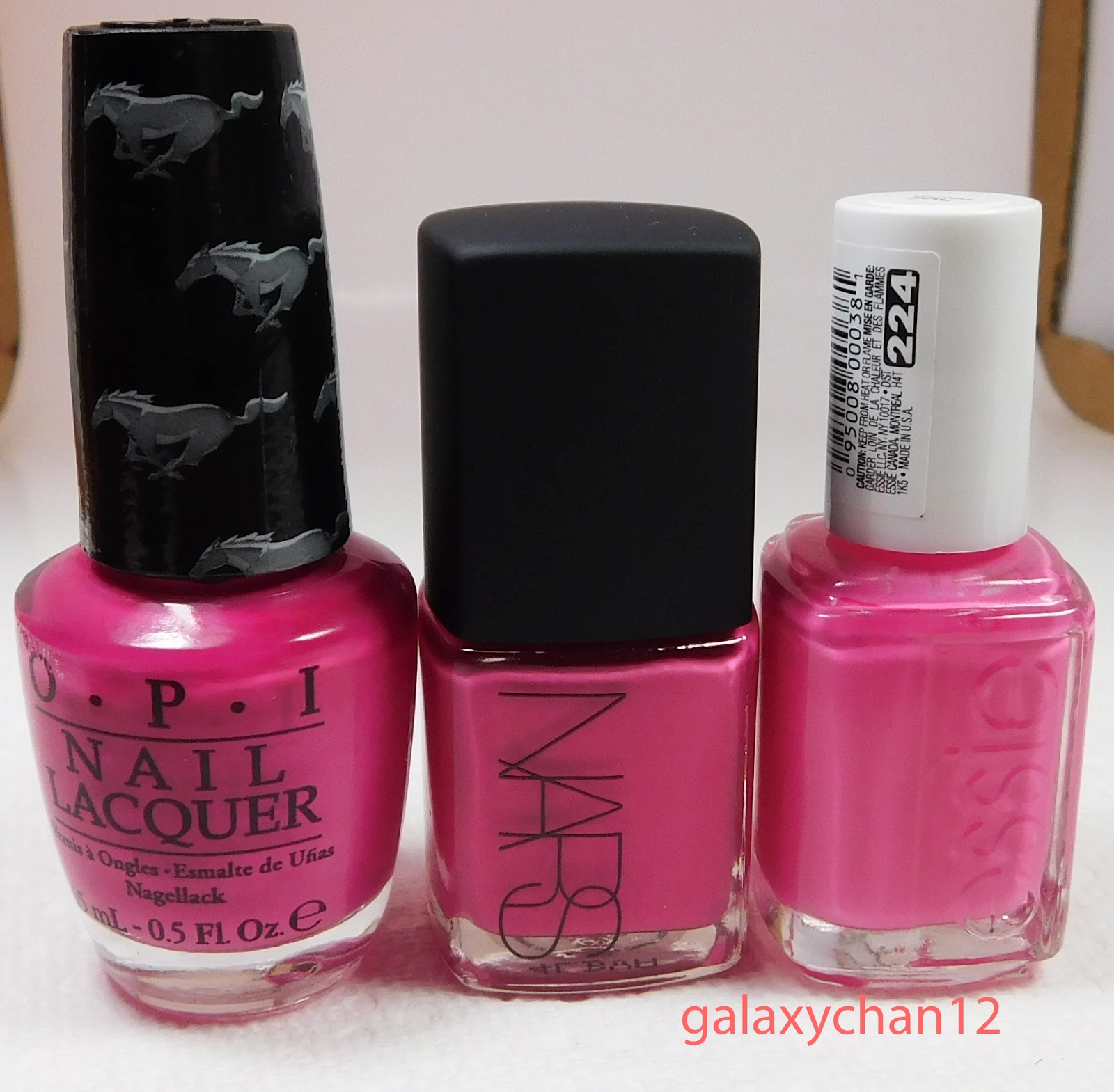 Miss Galaxy Nails & Beauty: Dupe/Comparison: Nars \