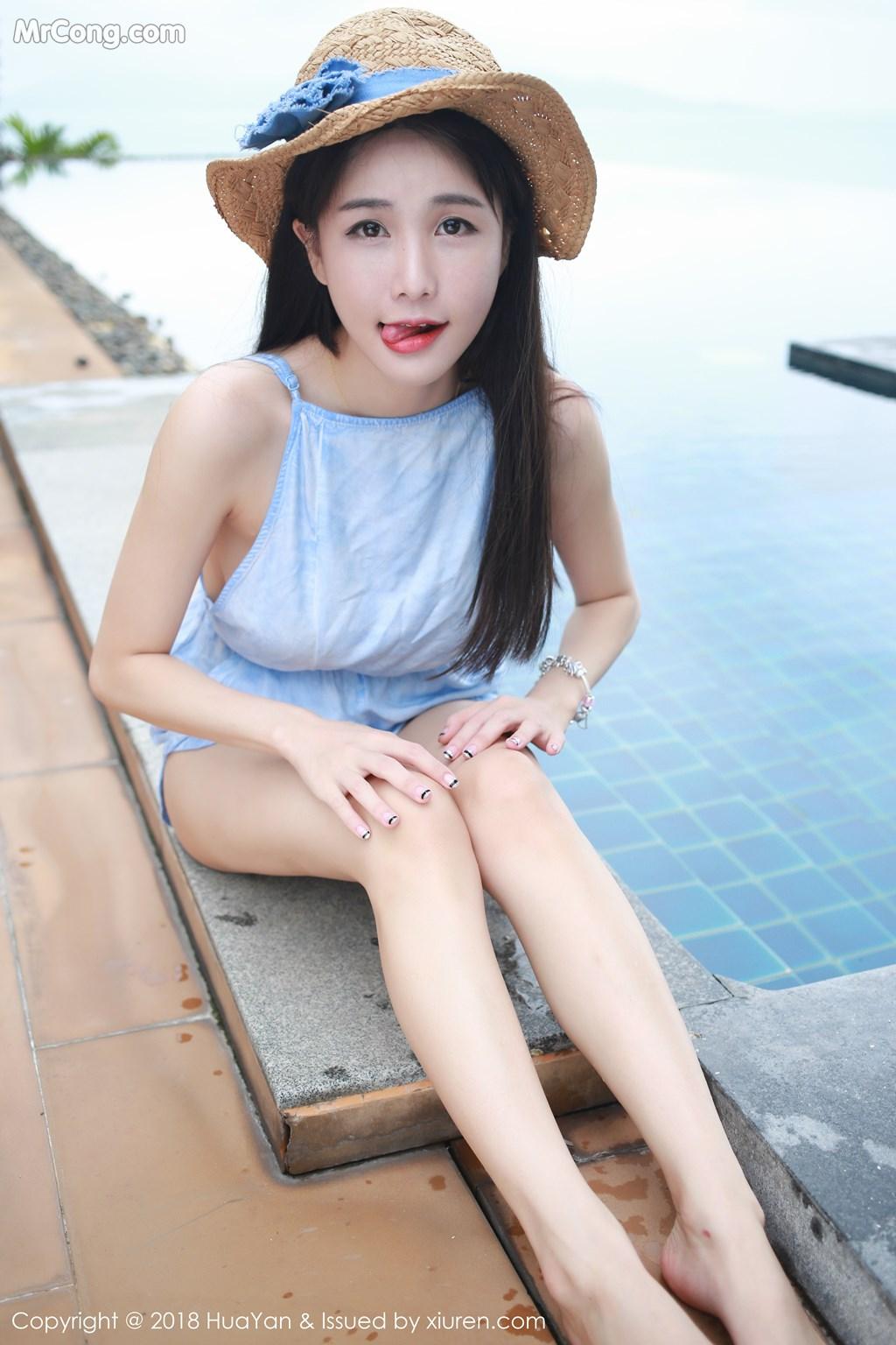 Image HuaYan-Vol.057-Xiao-Mo-Lin-MrCong.com-006 in post HuaYan Vol.057: Người mẫu Xiao Mo Lin (小沫琳) (41 ảnh)