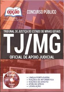 Apostila TJ-MG 2017 Oficial de Apoio Judiciário
